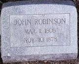 ROBINSON, JOHN - Black Hawk County, Iowa | JOHN ROBINSON