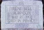 ROBINSON, IRENE BELL - Black Hawk County, Iowa | IRENE BELL ROBINSON