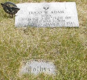 ADAM, HUGO W. - Boone County, Iowa | HUGO W. ADAM