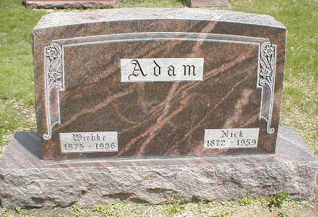ADAM, WIEBKE - Boone County, Iowa | WIEBKE ADAM