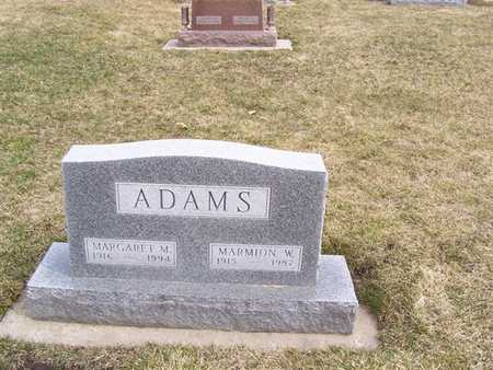 ADAMS, MARGARET M. - Boone County, Iowa | MARGARET M. ADAMS