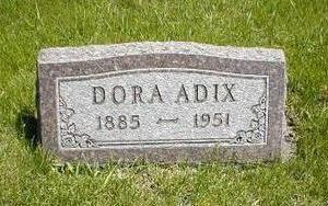 ADIX, DORA - Boone County, Iowa | DORA ADIX
