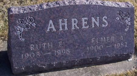 AHRENS, RUTH E. - Boone County, Iowa   RUTH E. AHRENS