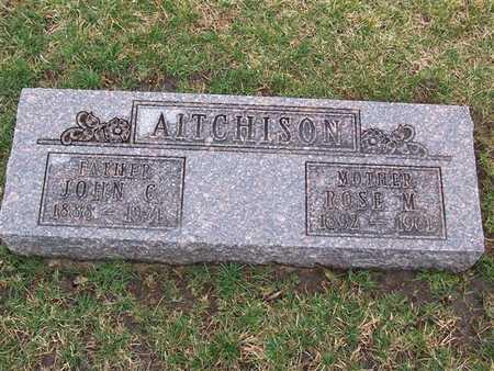 AITCHISON, ROSE M - Boone County, Iowa   ROSE M AITCHISON