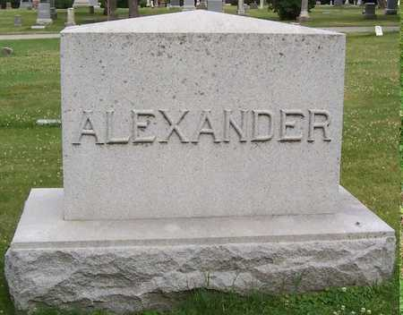 ALEXANDER, FRED - Boone County, Iowa | FRED ALEXANDER