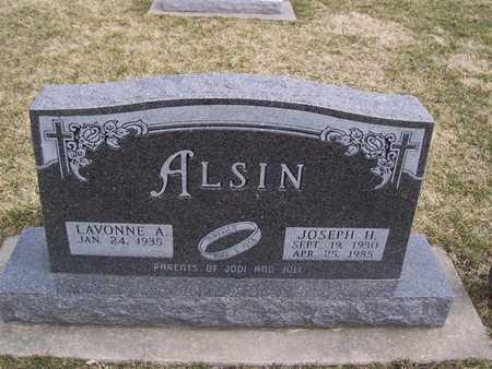 ALSIN, JOSEPH H. - Boone County, Iowa | JOSEPH H. ALSIN