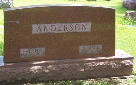 ANDERSON, CLAUS E. - Boone County, Iowa | CLAUS E. ANDERSON