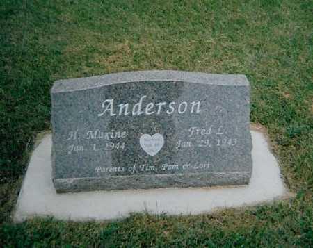 ANDERSON, H. MAXINE - Boone County, Iowa | H. MAXINE ANDERSON