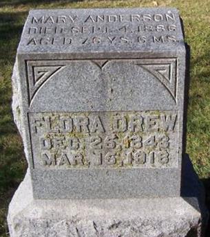 DREW, FLORA - Boone County, Iowa | FLORA DREW