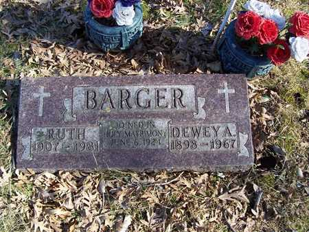 BARGER, RUTH - Boone County, Iowa | RUTH BARGER