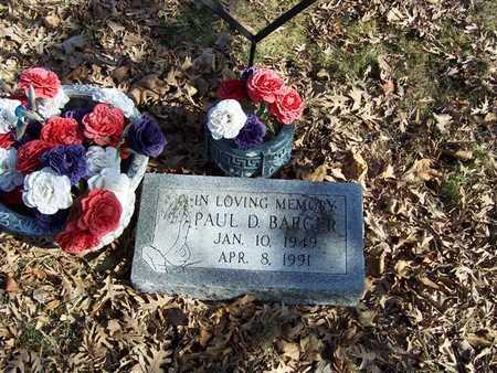 BARGER, PAUL D. - Boone County, Iowa | PAUL D. BARGER