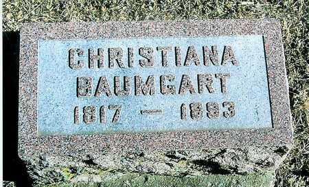 BAUMGART, CHRISTIANA - Boone County, Iowa | CHRISTIANA BAUMGART