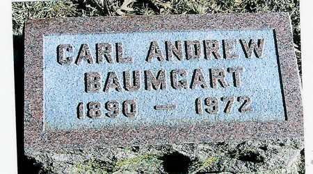 BAUMGART, CARL ANDREW - Boone County, Iowa | CARL ANDREW BAUMGART