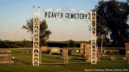 BEAVER, CEMETERY - Boone County, Iowa | CEMETERY BEAVER