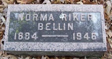 BELLIN, NORMA RIKER - Boone County, Iowa | NORMA RIKER BELLIN