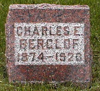 BERGLOF, CHARLES E. - Boone County, Iowa | CHARLES E. BERGLOF
