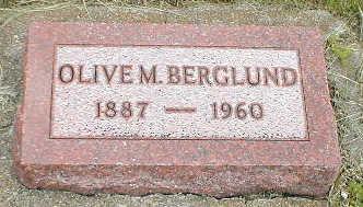 BERGLUND, OLIVE M. - Boone County, Iowa | OLIVE M. BERGLUND