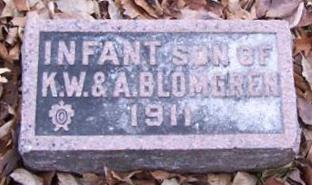 BLOMGREN, INFANT SON - Boone County, Iowa | INFANT SON BLOMGREN