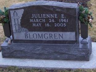 BLOMGREN, JULIENNE E. - Boone County, Iowa | JULIENNE E. BLOMGREN