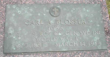 BLOSSER, CARL A. - Boone County, Iowa | CARL A. BLOSSER