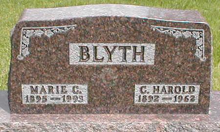 BLYTH, MARIE C. - Boone County, Iowa | MARIE C. BLYTH