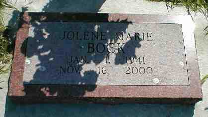 BOCK, JOLENE MARIE - Boone County, Iowa | JOLENE MARIE BOCK