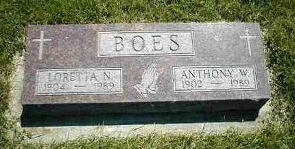 BOES, LORETTA N. - Boone County, Iowa | LORETTA N. BOES