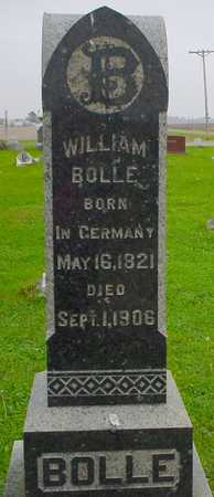 BOLLE, WILLIAM - Boone County, Iowa | WILLIAM BOLLE