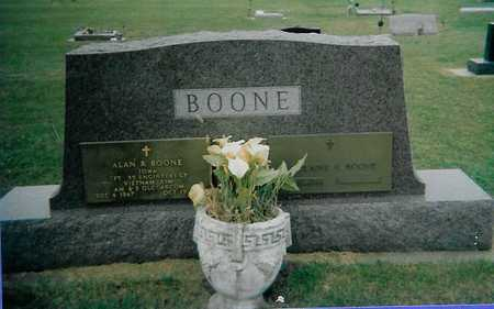 BOONE, ALAN R. - Boone County, Iowa | ALAN R. BOONE