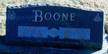 BOONE, ELDON E - Boone County, Iowa | ELDON E BOONE