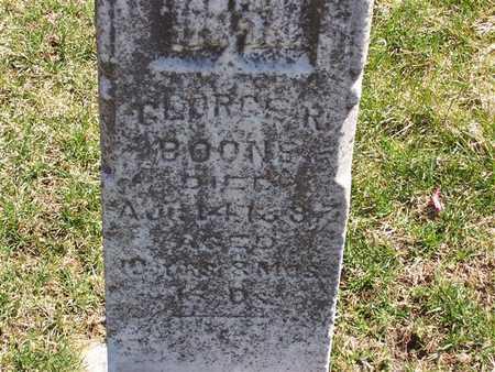 BOONE, GEORGE R. - Boone County, Iowa | GEORGE R. BOONE