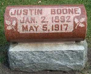 BOONE, JUSTIN - Boone County, Iowa | JUSTIN BOONE
