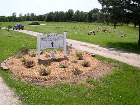BOONE MEMORIAL GARDENS, CEMETERY - Boone County, Iowa | CEMETERY BOONE MEMORIAL GARDENS