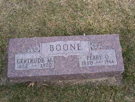 BOONE, PERRY O - Boone County, Iowa | PERRY O BOONE