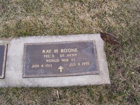 BOONE, RAY H. - Boone County, Iowa | RAY H. BOONE