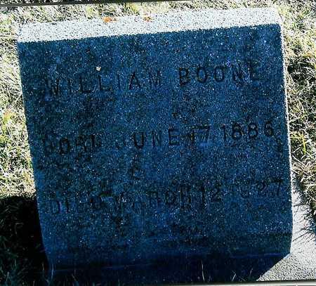 BOONE, WILLIAM - Boone County, Iowa | WILLIAM BOONE