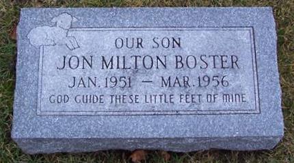 BOSTER, JON MILTON - Boone County, Iowa | JON MILTON BOSTER