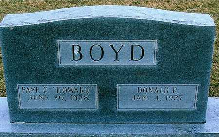 BOYD, DONALD P. - Boone County, Iowa | DONALD P. BOYD