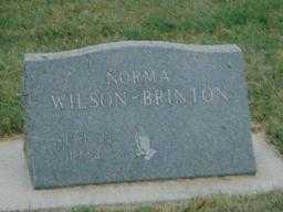 BRINTON, NORMA - Boone County, Iowa | NORMA BRINTON