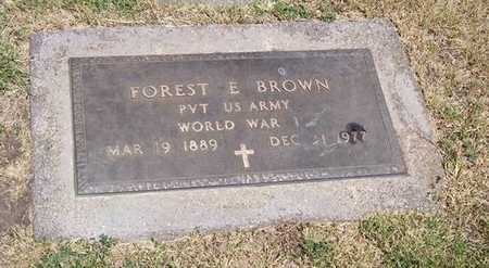 BROWN, FOREST E. - Boone County, Iowa | FOREST E. BROWN