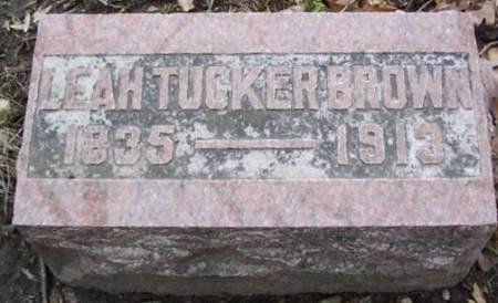 BROWN, LEAH TUCKER - Boone County, Iowa | LEAH TUCKER BROWN