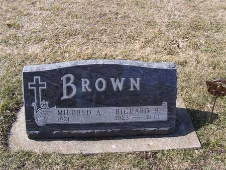 BROWN, MILDRED A. - Boone County, Iowa | MILDRED A. BROWN