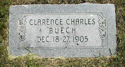 BUECH, CLARENCE CHARLES - Boone County, Iowa | CLARENCE CHARLES BUECH