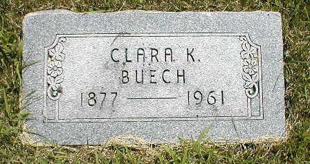 BUECH, CLARA K. - Boone County, Iowa | CLARA K. BUECH