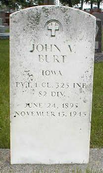 BURT, JOHN V. - Boone County, Iowa | JOHN V. BURT