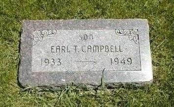 CAMPBELL, EARL T. - Boone County, Iowa | EARL T. CAMPBELL