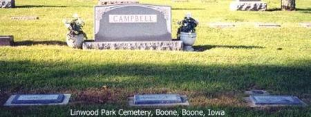 CAMPBELL, HEADSTONE - Boone County, Iowa | HEADSTONE CAMPBELL