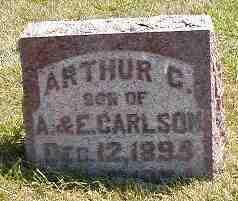 CARLSON, ARTHUR C. - Boone County, Iowa | ARTHUR C. CARLSON