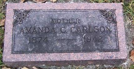 CARLSON, AMANDA C. - Boone County, Iowa   AMANDA C. CARLSON