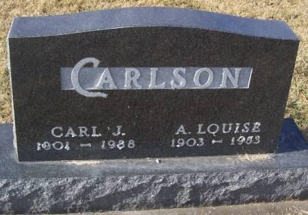 CARLSON, A. LOUISE - Boone County, Iowa | A. LOUISE CARLSON